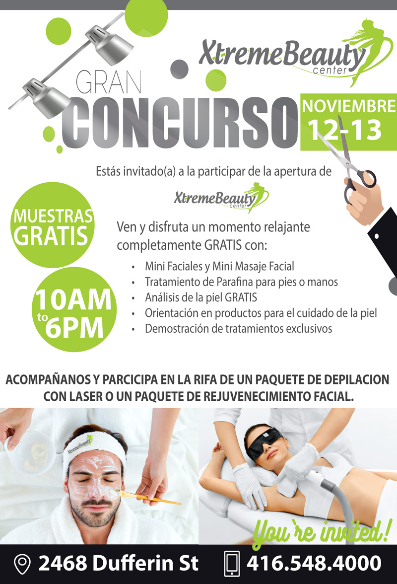 Concurso Xtreme Beauty Center