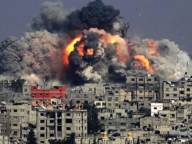 Se recrudece bombardeo sobre la Franja de Gaza | La Portada Canadá