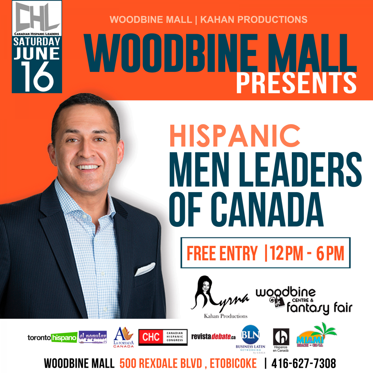 Hispanic Men Leaders of Canada