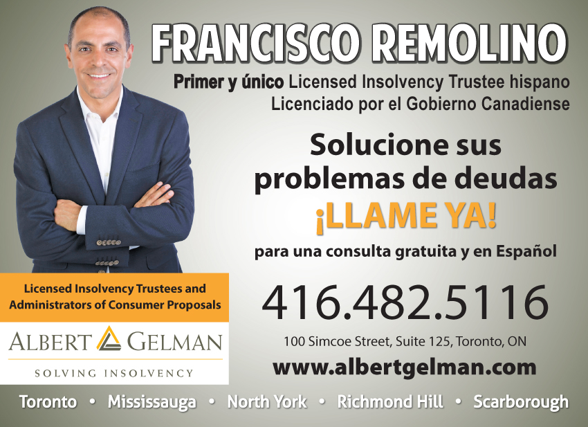 Francisco Remolino, CIRP, Licensed Insolvency Trustee