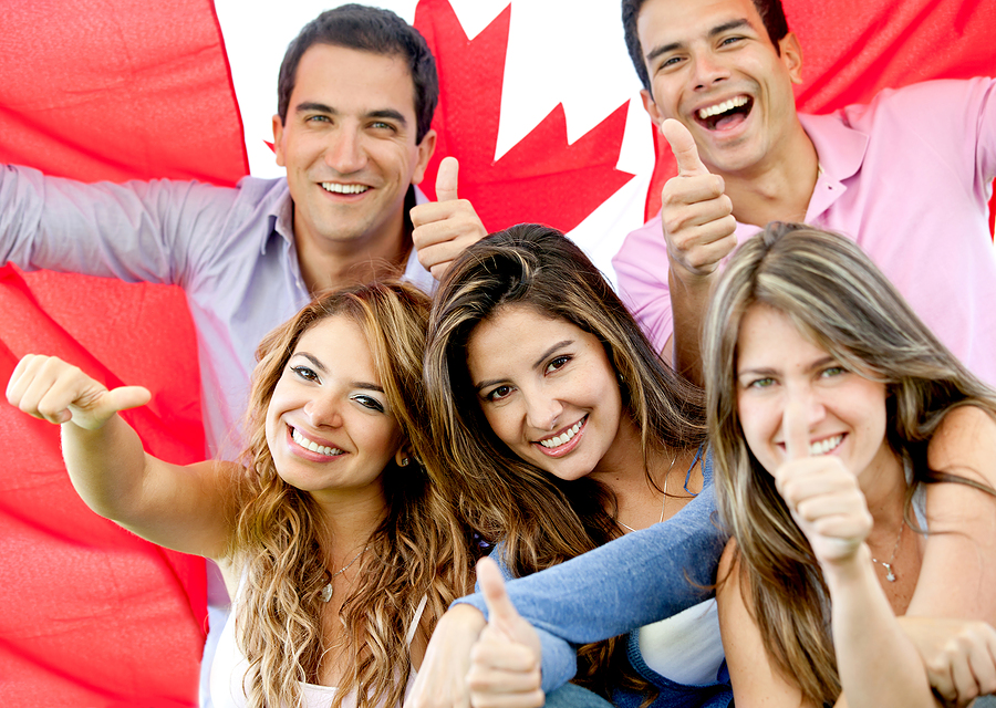 La portada canad 225 felicitaciones a los 1 500 nuevos ciudadanos