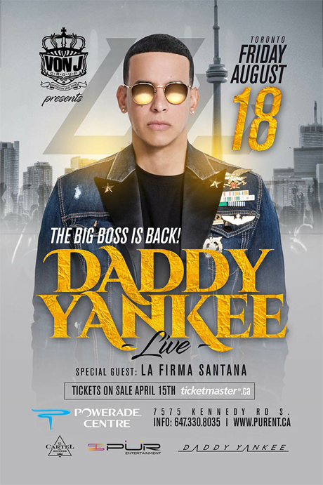 DADDY YANKEE EN CONCIERTO: The Big Boss is Back!