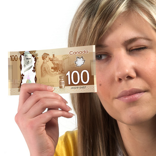 Billetes Plasticos Canadiences