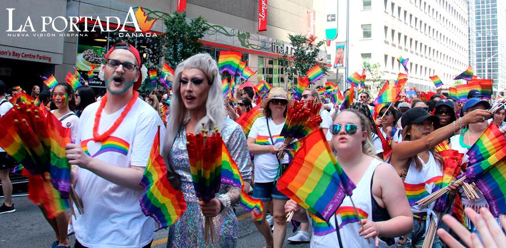 1er desfile del orgullo gay