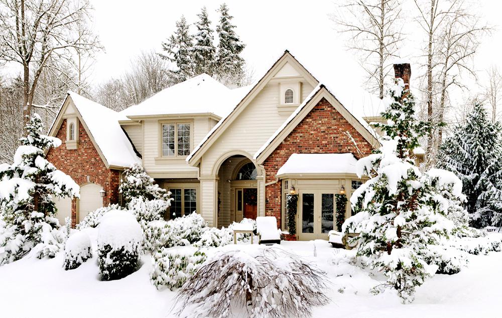 photo collection invierno nieve casas