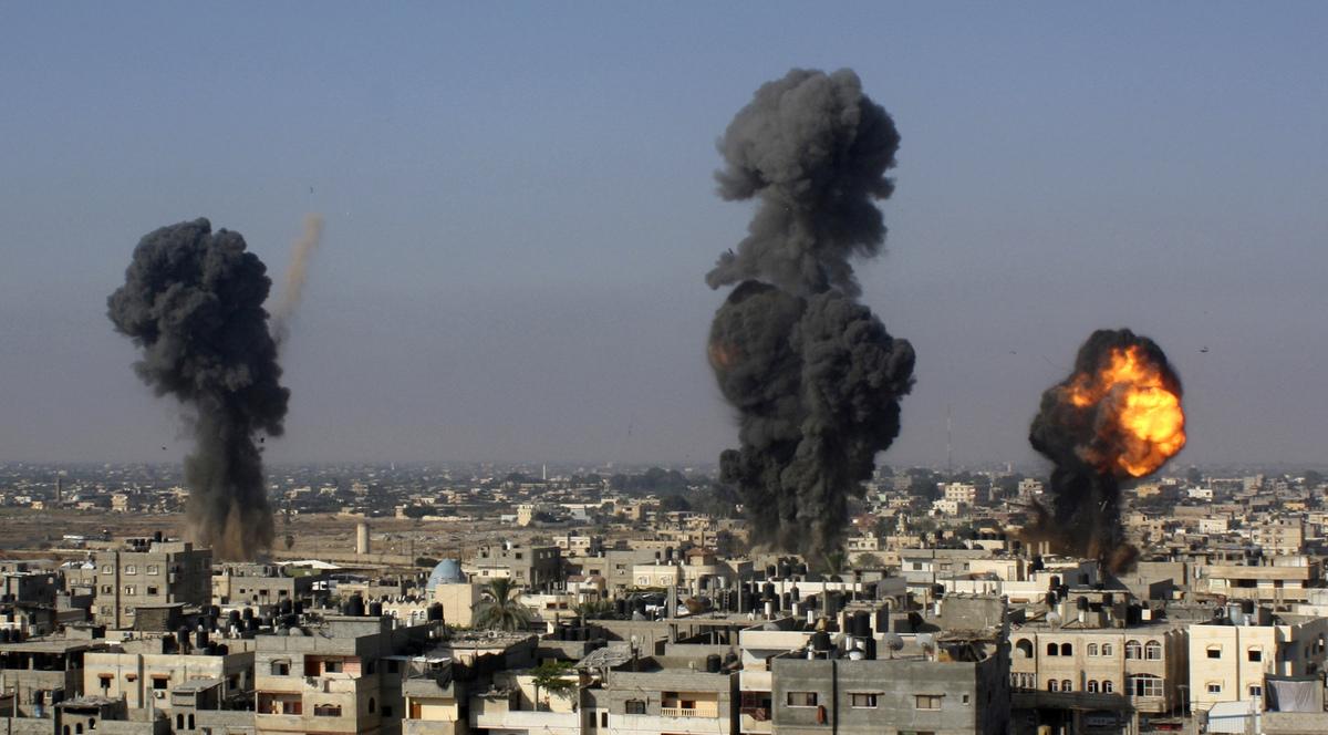 Israel reanudo bombardeos contra Gaza   La Portada Canadá