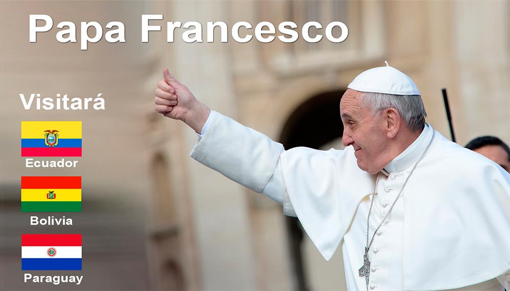 Resultado de imagen para papa francisco gira latinoamerica